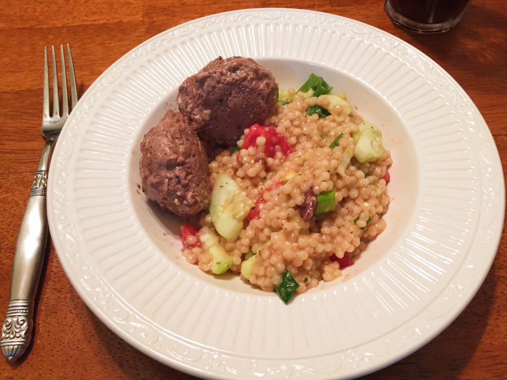 Lamb Meatballs with Couscous
