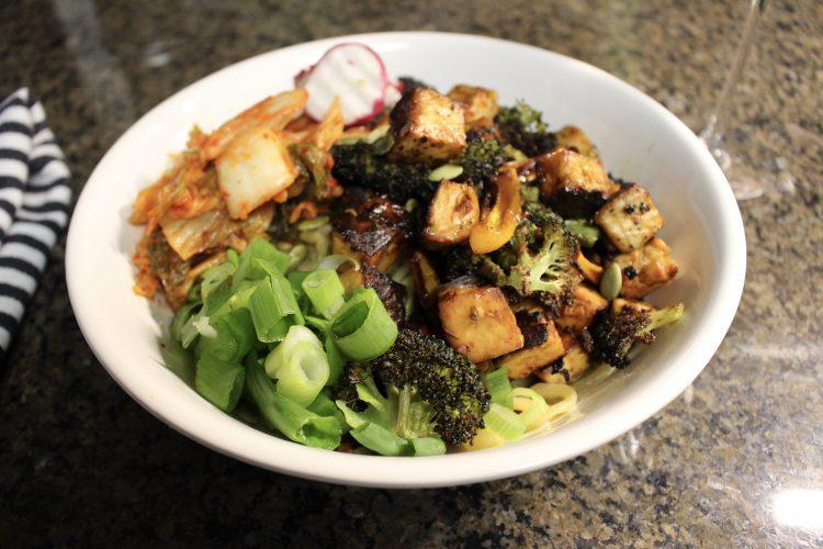 Chinese Noodles w/ tofu & veggies